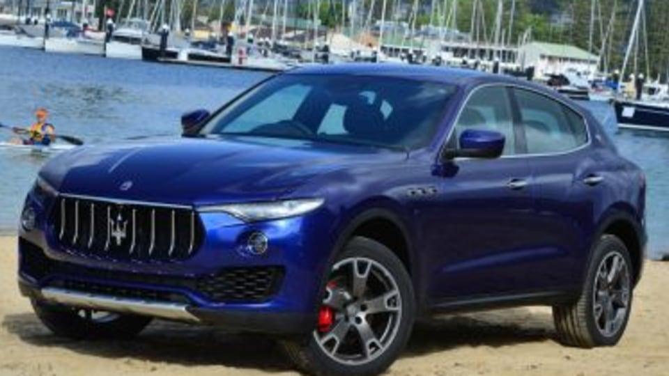2017 Maserati Levante.