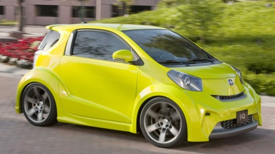 Scion iQ Concept Revealed At New York Motor Show
