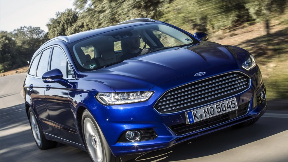 Ford Australia Calls Out Toyota Camry With New Mondeo