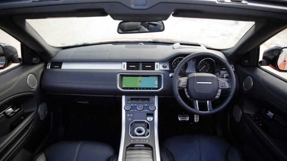 2017 Range Rover Evoque Convertible.