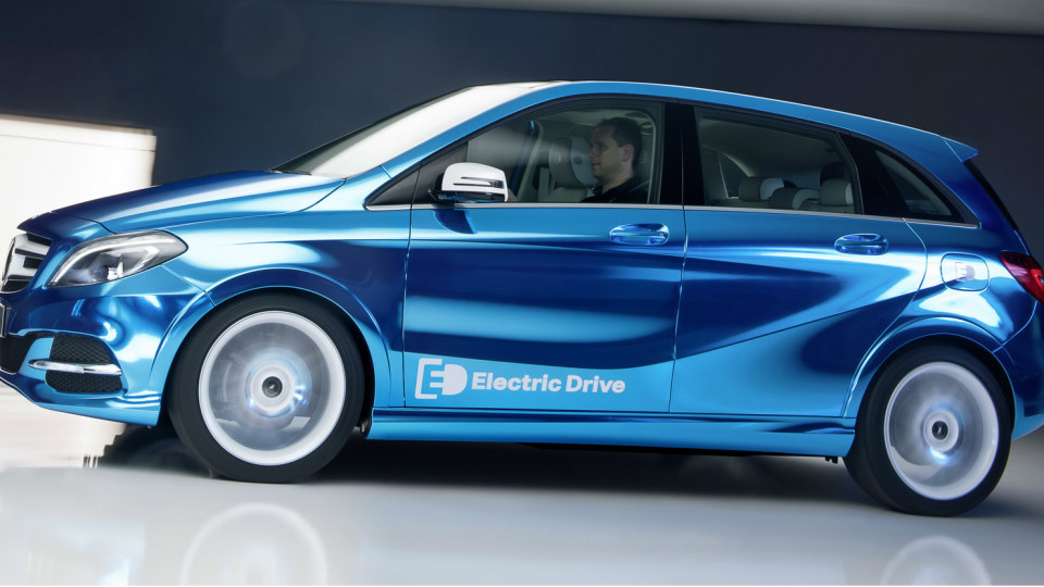 Mercedes-Benz B-Class Electric Drive Bound For Paris Motor Show
