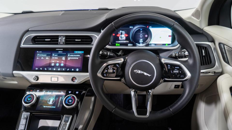 Jaguar I-PACE EV400 2019 Wagon Review