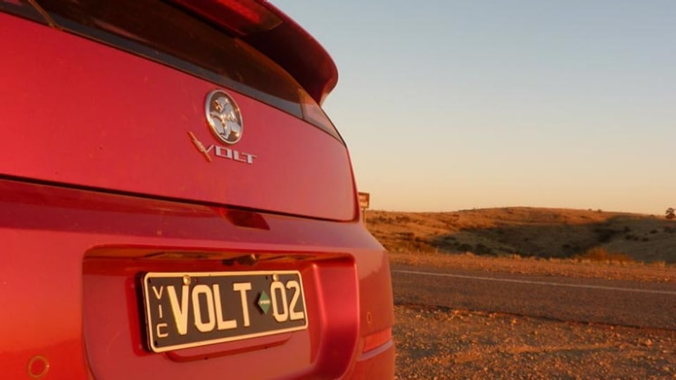 Drive takes Holden's new hybrid Volt on the ultimate long-distance driving test to Broken Hill and back.