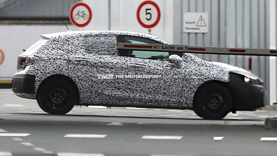 2016 Opel Astra Spotted
