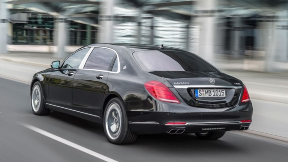 Mercedes-Benz's ultra-luxury limousine the Mercedes-Maybach S600.