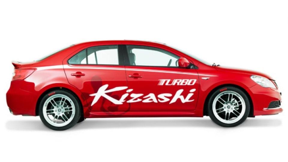 Suzuki Kizashi Turbo.