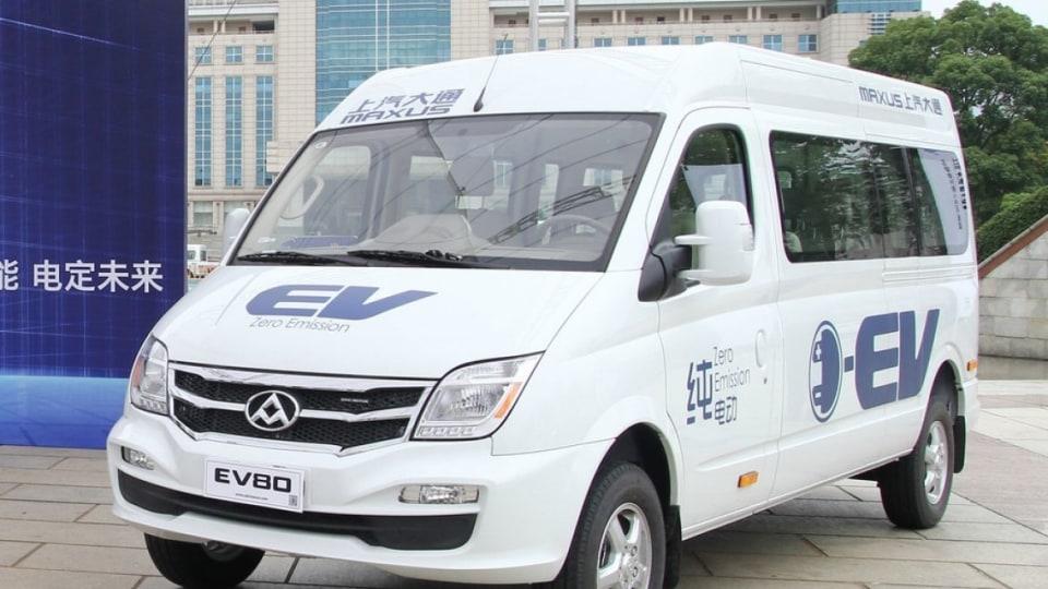 LDV EV80 electric van