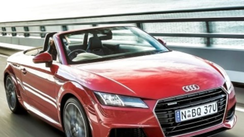 Audi TT Roadster first drive review