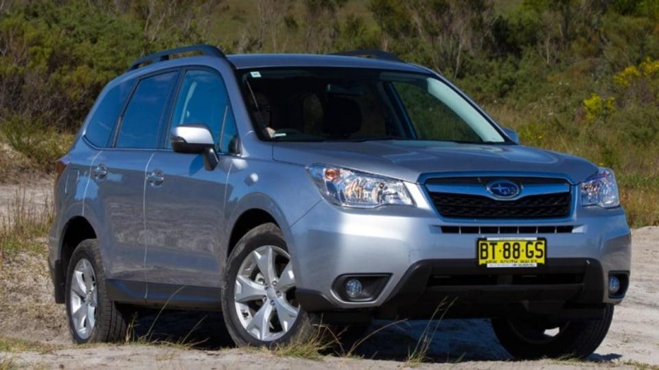 Subaru Forester 2.5i-L CVT.