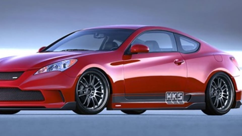 HKS Tuned Hyundai Genesis Coupe Headed for SEMA