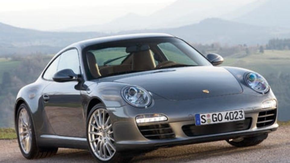 The new all-wheel-drive Porsche Carrera.