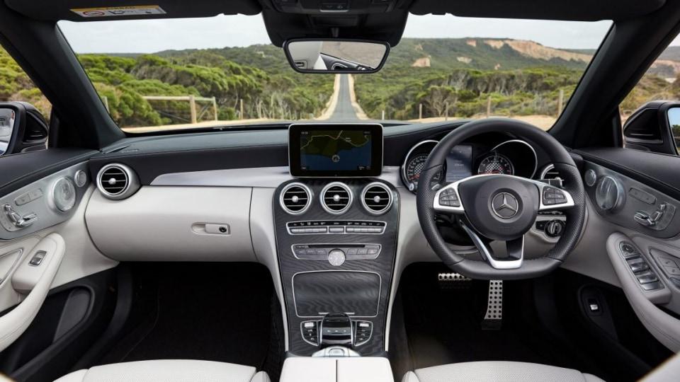2017 Mercedes-AMG C43 Cabriolet.