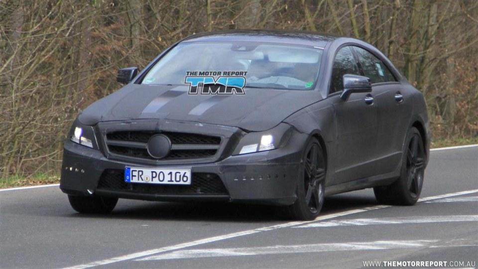2011 Mercedes-Benz CLS 63 AMG To Debut At LA