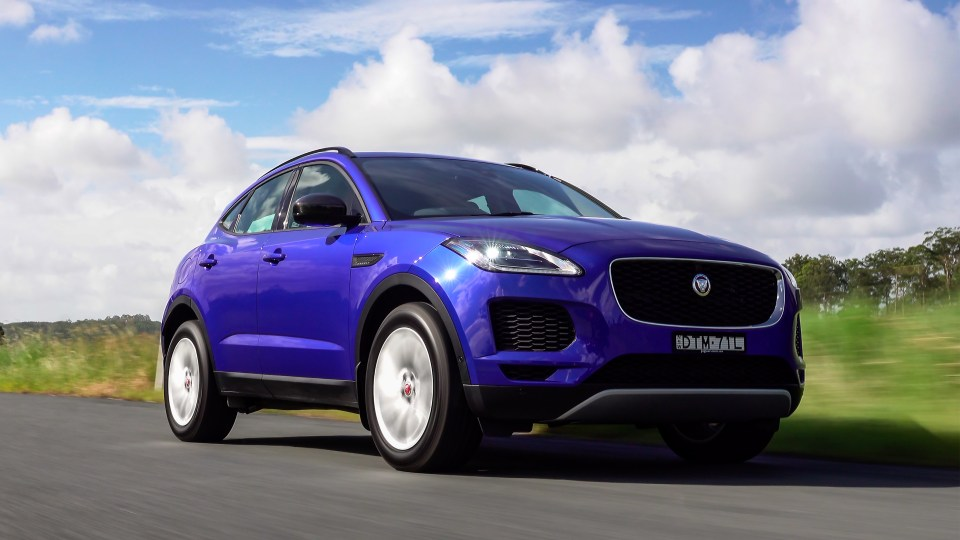 2018 Jaguar E-Pace first Australian drive review