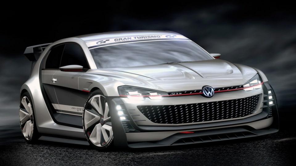 Volkswagen GTI Supersport Concept Revealed For Vision GT