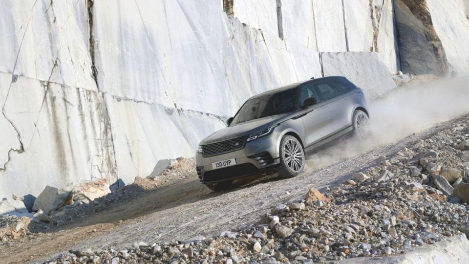 2017 Range Rover Velar.