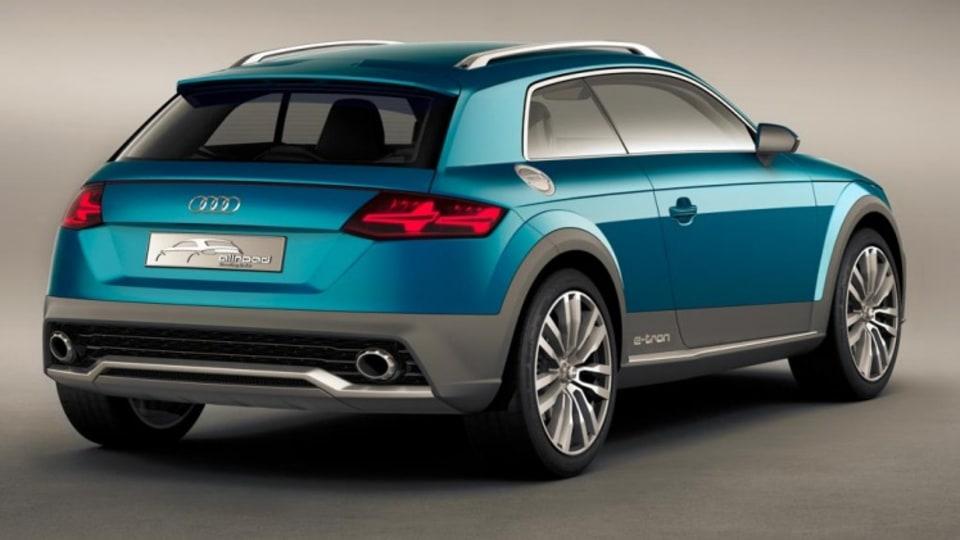 Audi Allroad Shooting Brake concept.