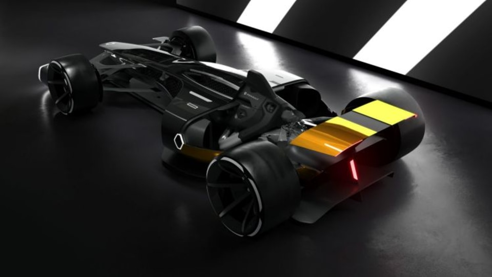 The Renault R.S. 2027 Vision concept was shown at the 2017 Shanghai motor show.