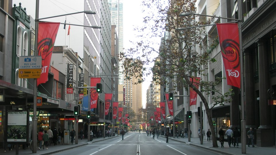 Sydney CBD Overhaul Begins, Clearway Times Extended
