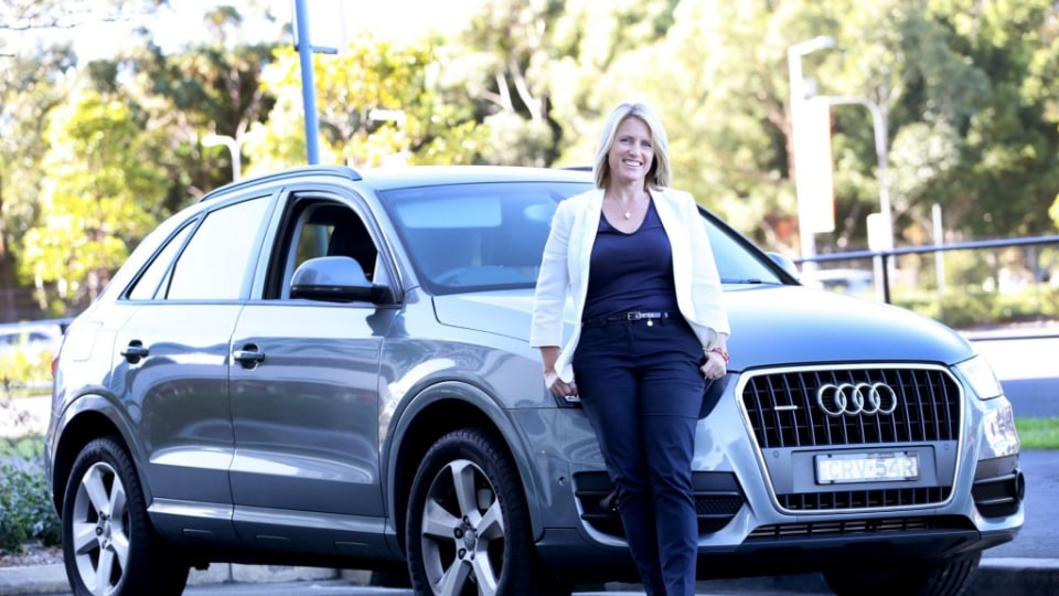 House Rules judge Wendy Moore with her Audi Q3.