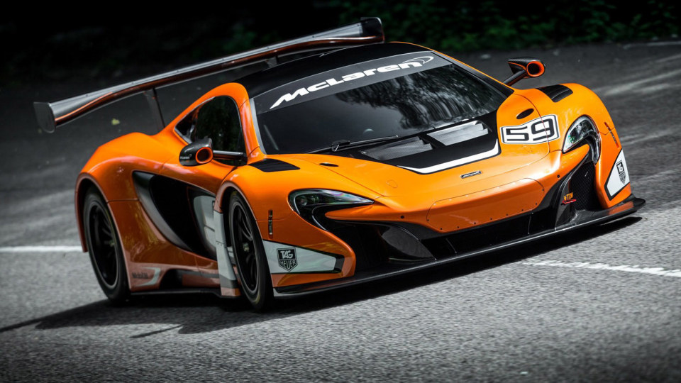 McLaren 650S GT3 Racer Revealed