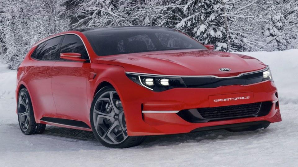 Kia Sportspace Revealed: Optima Wagon Previewed?