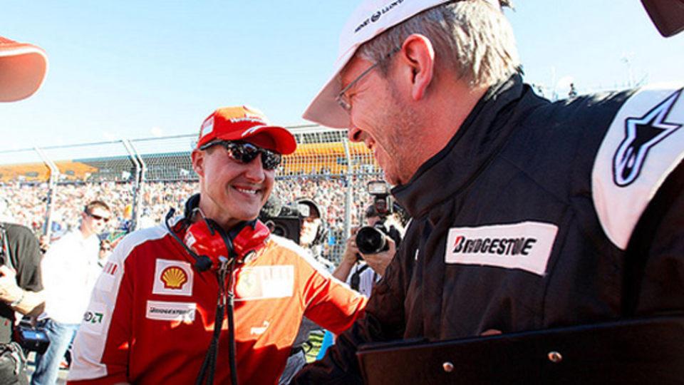 Schumacher Manager Promises Updates When Condition Changes