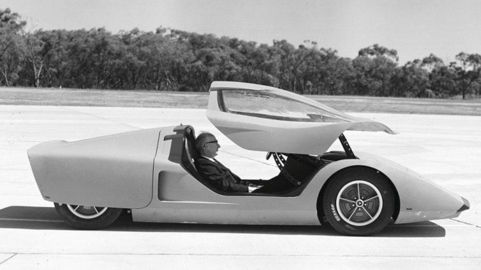 Holden's 1969 Hurricane concept.