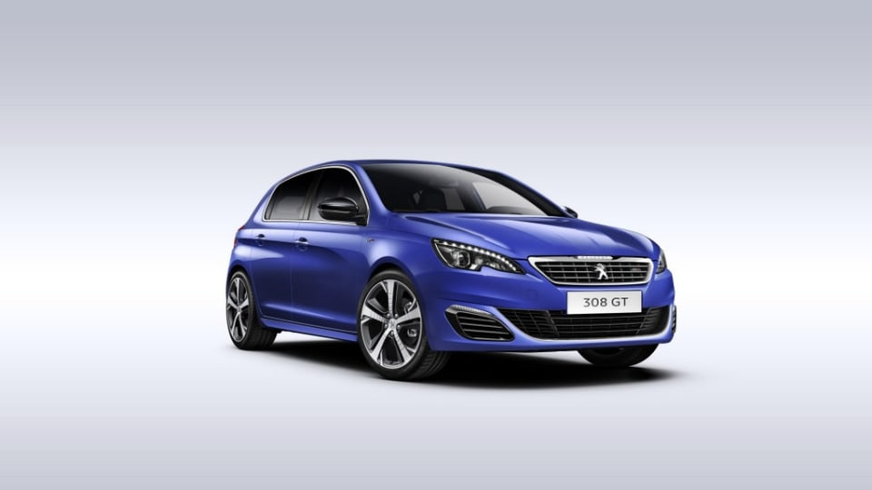The new Peugeot 308 GT.
