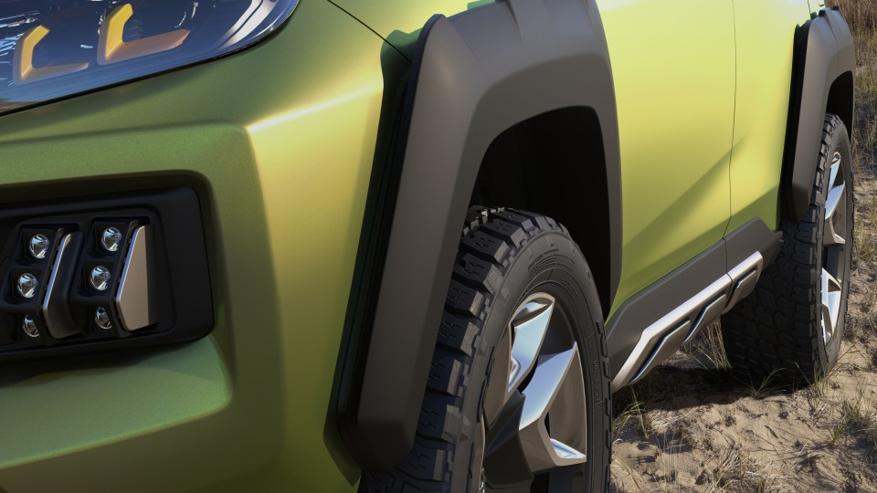 Toyota FT-AC Concept.
