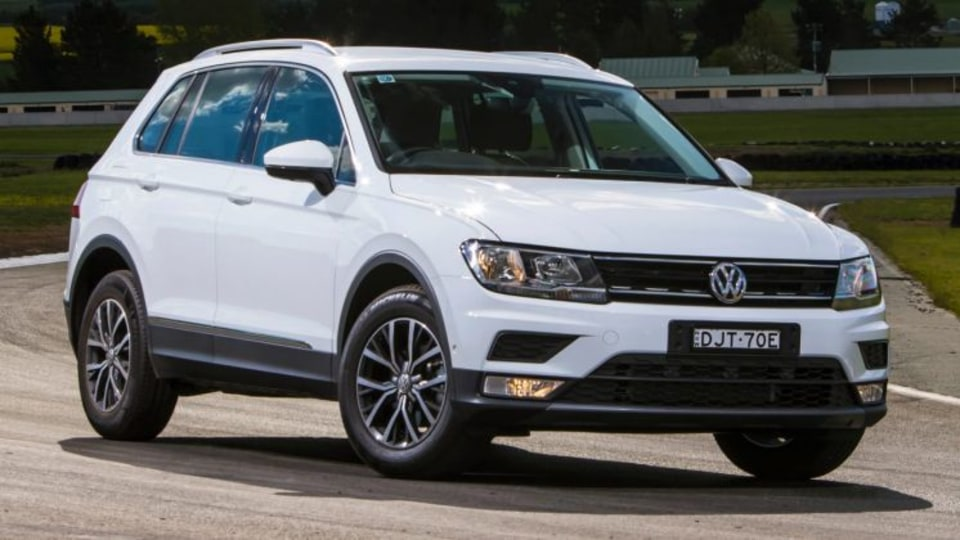 2016 Drive Car of the Year Best Small SUV: Volkswagen Tiguan 110TSI.