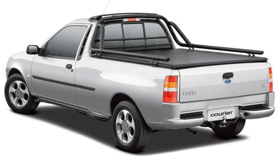 Ford Courier Brazil market