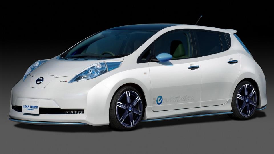 Nismo Tweaks Nissan's Leaf Style