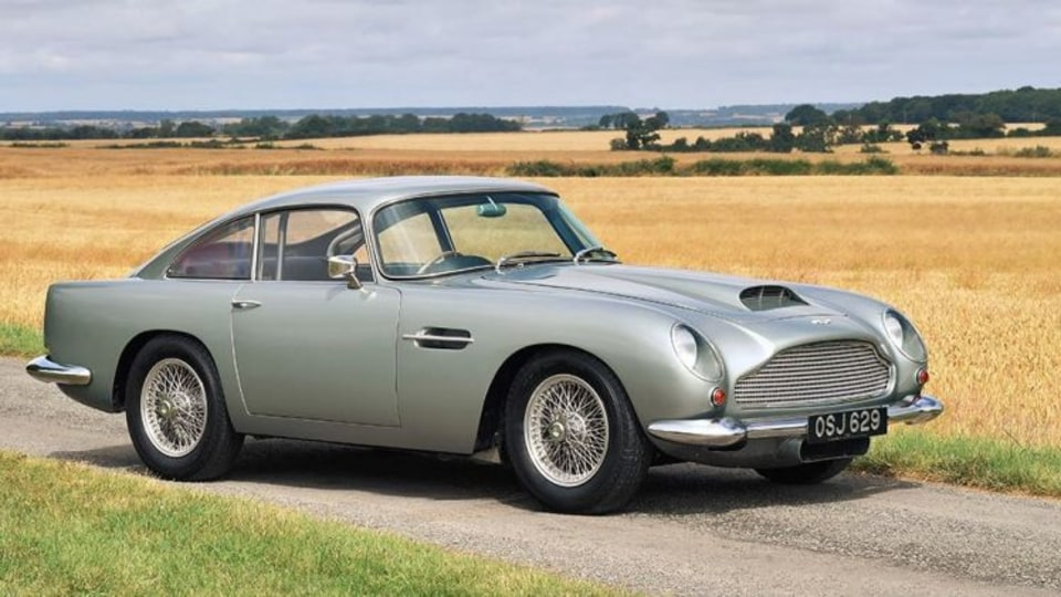 An Aston Martin DB4 GT sold at auction for almost $4 million this year.