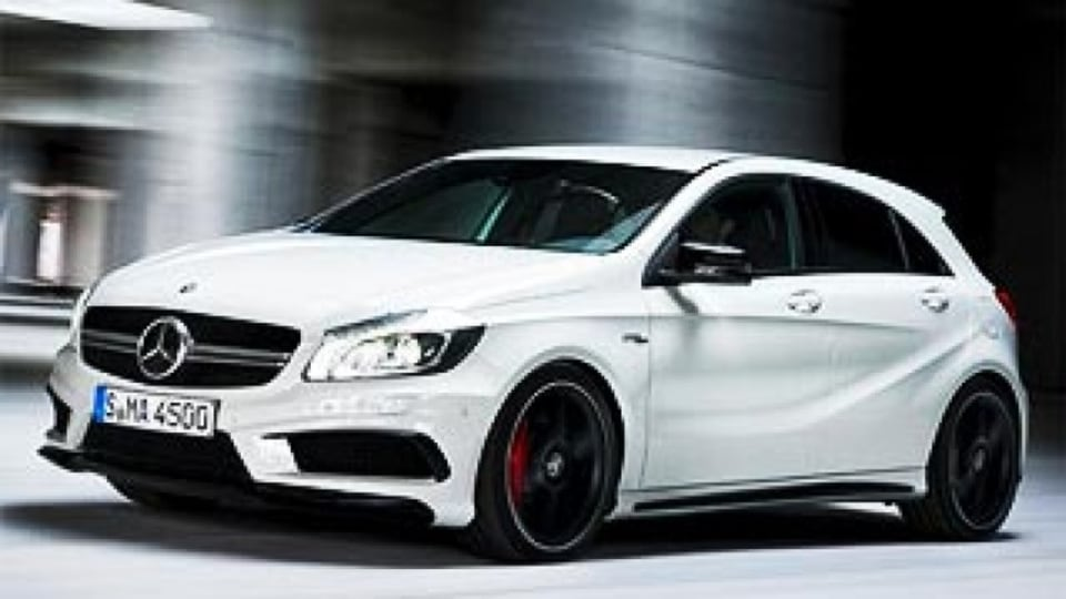 Mercedes-Benz reveals hot new A45 AMG hatchback