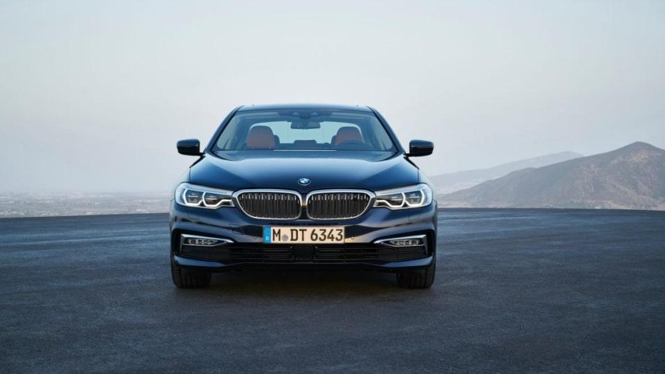 2017 BMW 5-Series.
