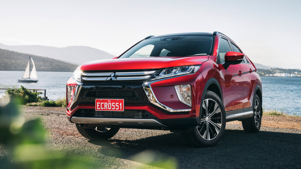 Mitsubishi's Eclipse Cross is on sale now.