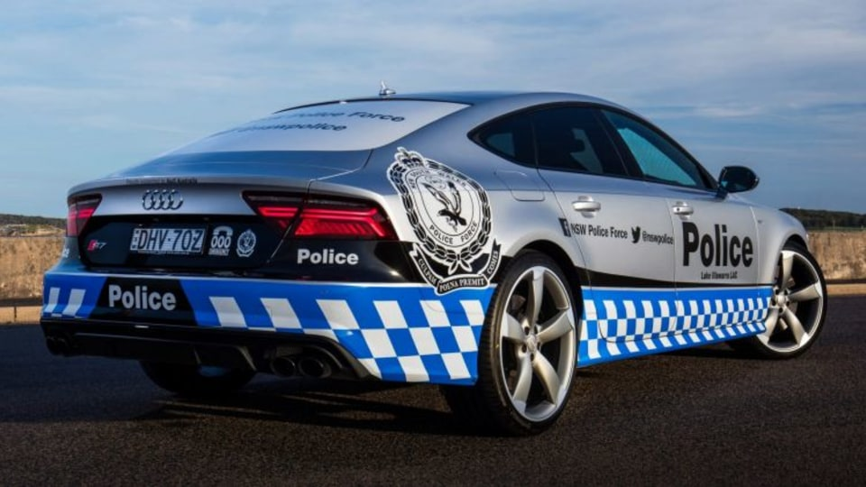 NSW Police Force will use the Audi S7 as part of its community engagement program.