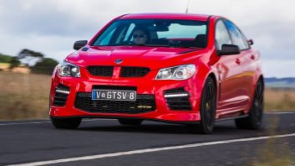 Performance sedan comparison: HSV GTS.