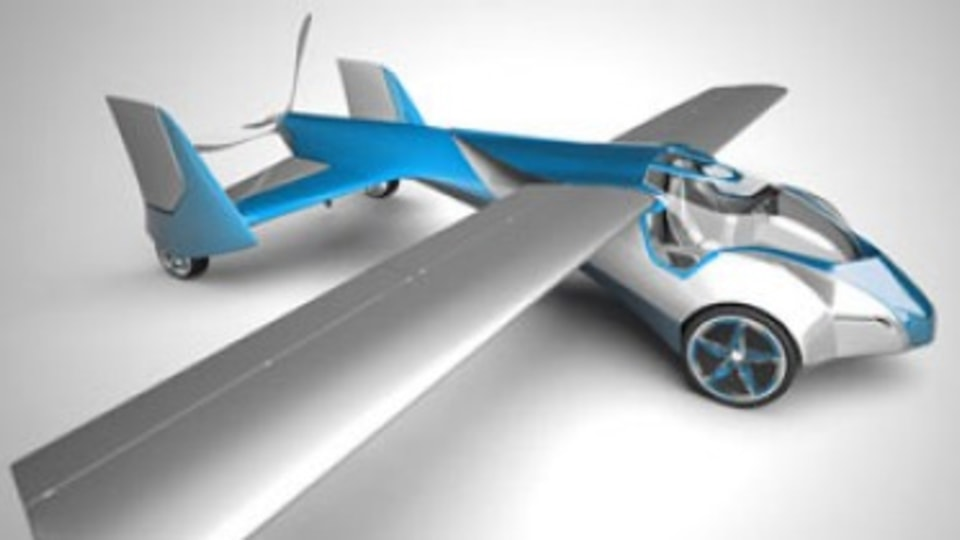 Flying car project gets off the ground