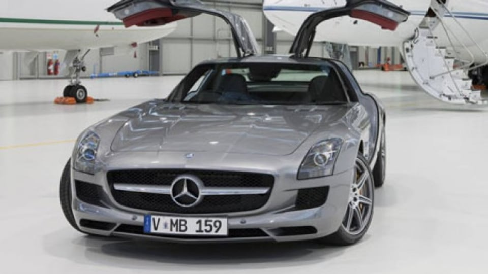 Mercedes-Benz will unveil its last edition of its SLS AMG 'Gullwing'.