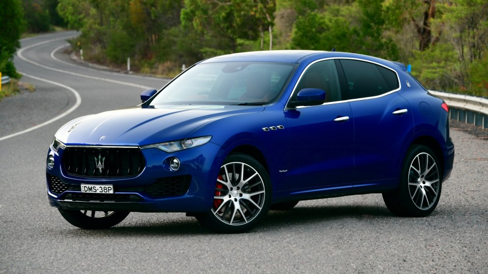 2018 Maserati Levante S GranSport new car review