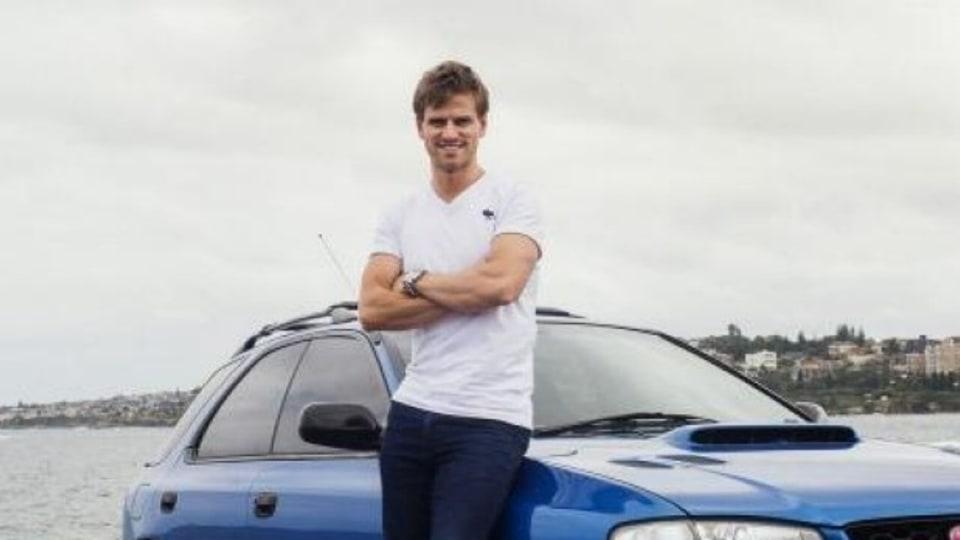 Rev head: Actor Steve Danielsen has owned several Subaru WRXs.