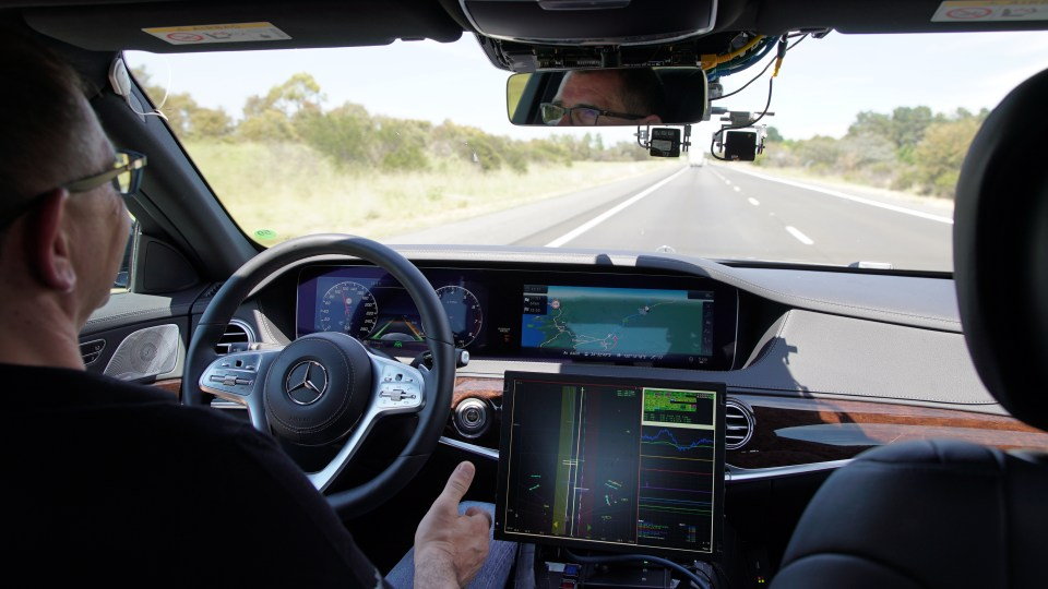 The vehicles won't trial full autonomy.
