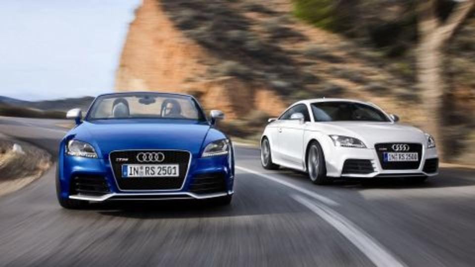 2009 Audi TT RS Official Details Released