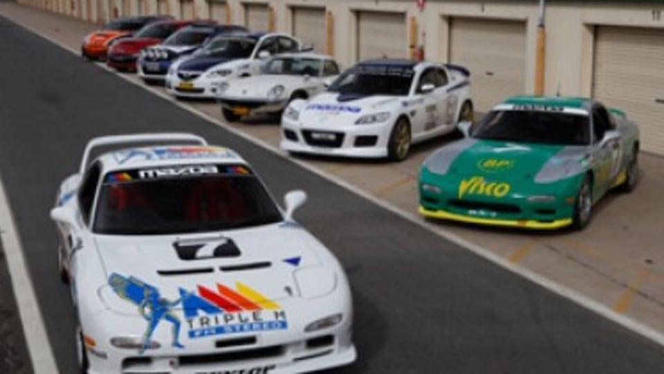 Driving Mazda's motorsport heroes