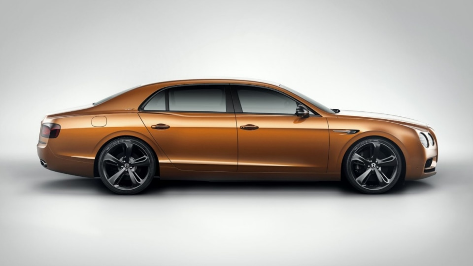 2017 Bentley Flying Spur W12 S is the British brand's fastest four-door.