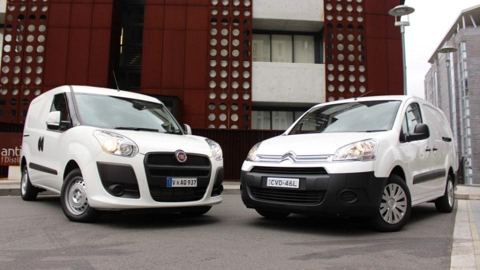 Euro charm: the Fiat Doblo and Citroen Berlingo.