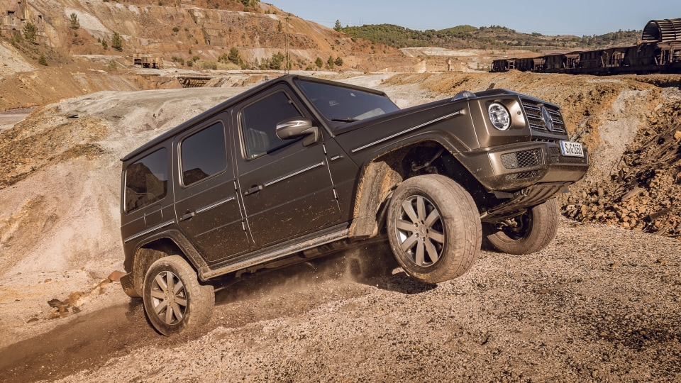 Mercedes-Benz trademarks EQG name for electric G-Class