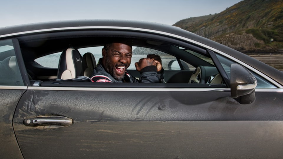 Idris Elba Breaks Blue Bird's Flying Mile Record At Pendine Sands